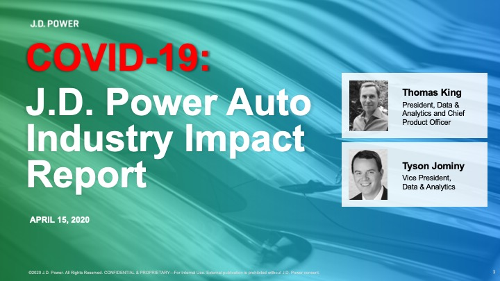 COVID-19 J.D. Power Auto Industry Impact Report_COVER  -  Read-Only